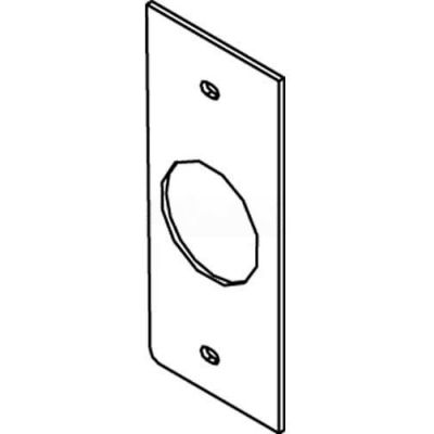 Wiremold Sgt-H Floor Box Af1&3 Top Plate, For Heyco Device - Pkg Qty 25