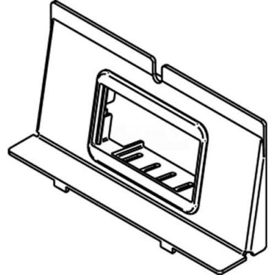 Wiremold Wtb-2-Ab Floor Box Communication Bracket W/(1) 2a Mini Bezel For Rfb4-4db - Pkg Qty 5