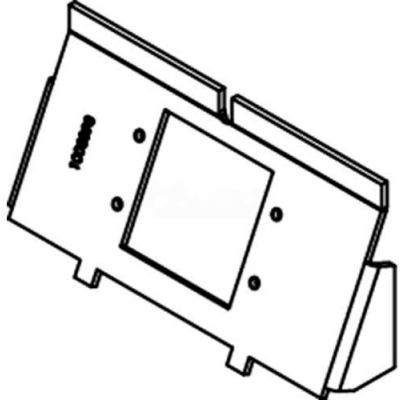 Wiremold WTB-MAAP Floor Box Rfb4-4db Device Plate with Ports for (2) MAAP Devices