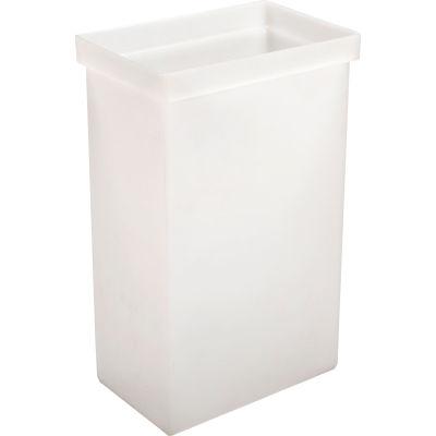 """Winholt® 148BIN-WH, Ingredient Bin, Polyethylene, 14-5/8""""L x 9-1/4""""W x 23-1/4""""H, White"""