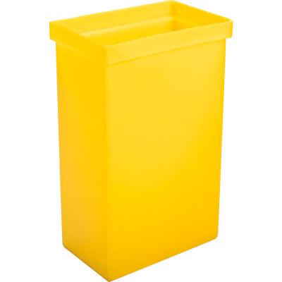 "Winholt® 148BIN-YW, Ingredient Bin, Polyethylene, 14-5/8""L x 9-1/4""W x 23-1/4""H, Yellow"
