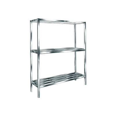 "Cooler & Backroom Shelving, T-Bar Style, 24"" x 48"", 3 shelves"