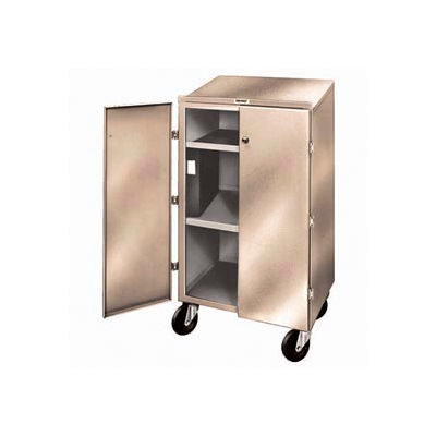 "Winholt Mobile Cabinet OTE-78 with 2 Doors & Undershelf 24""W x 18""D x 44""H Slope Surface - Beige"