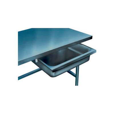 """Drawer for Winholt Poly Top Work Tables - 304 Stainless Steel 30""""W"""