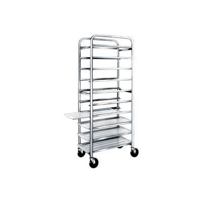 "Winholt SS-1212, Stainless Steel Platter Cart, 12 Trays, 12"""