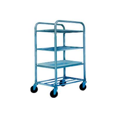 "Winholt Aluminum Universal Cart UNAL-4  4 Shelves, 27""L x 21""W x 43""H, No Lugs"