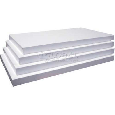 "Slatwall White Shelves, 3/4""Hx8""Dx14""W, Finished on 2 Sides and 3 Edges"