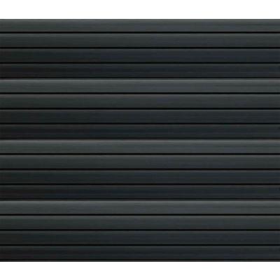 "Slatwall PVC Easy Panel 48""W x 12""H Black (4 PC)"