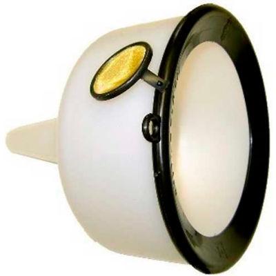 Funnel King® Extra Heavy-Duty 144 oz. Funnel w/ Screen & Splash Ring - 90190
