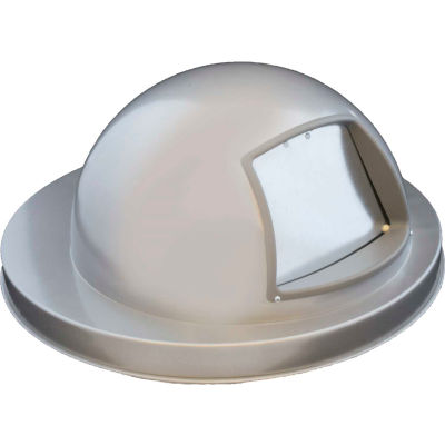 Dome Top For Mesh Trash Container, Silver - 5555SLV
