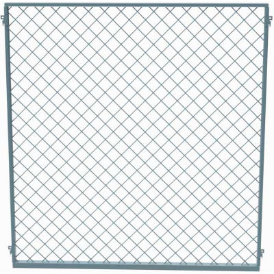 Husky Rack & Wire EZ Wire Mesh Partition Panel 4'W x 8'H