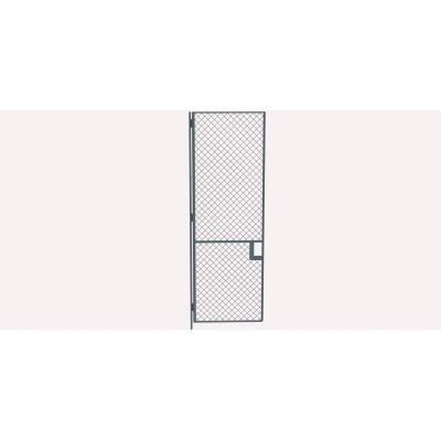 Husky Rack & Wire EZ Wire Mesh Partition Hinged Door - 3'Wx8'H