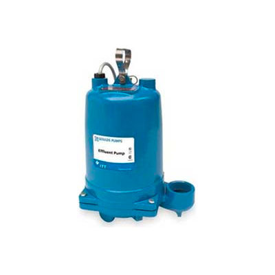 Goulds WE0311M Submersible Effluent Pump- 1/3  HP- 115V- Phase 1- 10.7 Amps