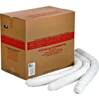 """ESP Oil Only Poly-Cellulose Socks, 30WS34-SB, 3"""" x 4', 30/Box"""
