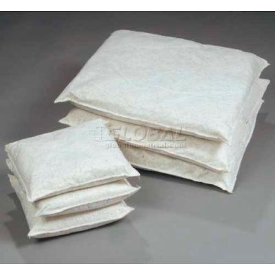 "ESP Universal Poly-Cellulose Absorbent Pillow, 40GPILL1010, 10"" x 10"", 40 Pillows/Box"