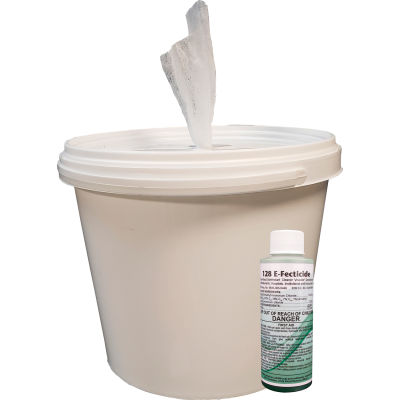 Spilfyter® Disinfecting Wipe Kit Pro - Bucket & Wipes Included