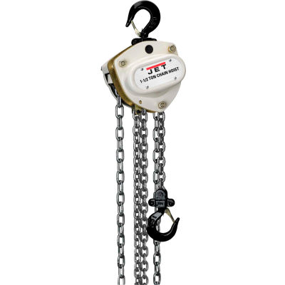 JET® L100 Series Manual Chain Hoist 1-1/2 Ton, 15 Ft. Lift