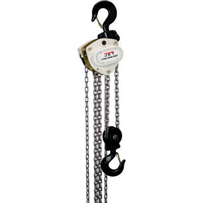 JET® L100 Series Manual Chain Hoist 3 Ton, 10 Ft. Lift