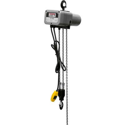JET® JSH 1/4 Ton, Electric Chain Hoist, 15' Lift, 8 FPM, 115V