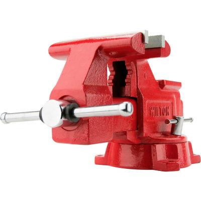 """Wilton 28818 Model 674U 4-1/2"""" Jaw Width 2-3/4"""" Throat Depth Utility Workshop Vise W/ Swivel Base"""