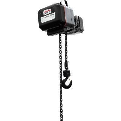 JET® VOLT series Electric Hoist 2 Ton, 15' Lift, 3 Phase 230V