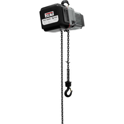 JET® VOLT Series Electric Chain Hoist 1/2 Ton, 10 Ft. Lift, 1/3 Phase, 230V