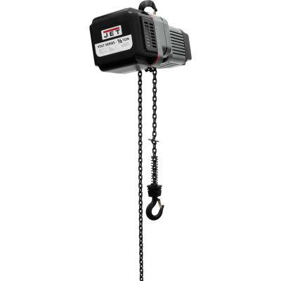 JET® VOLT 1/2 Ton, Electric Chain Hoist, 15' Lift, 0 to 39 FPM, 460V