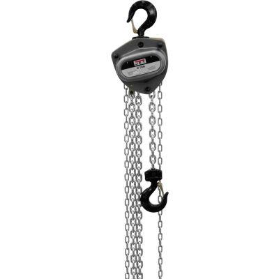 JET® L100 Series Manual Chain Hoist w/Overload Protection 2 Ton,20 Ft Lift