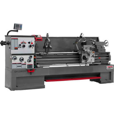 Jet 321891 GH-26120ZH Large Spindle Bore Lathe W/2-Axis Newall DP700 DRO, 10 HP