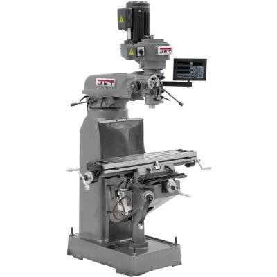 JVM-836-1 Mill, NEWALL C80 3-Axis (Quill) DRO & X Powerfeed