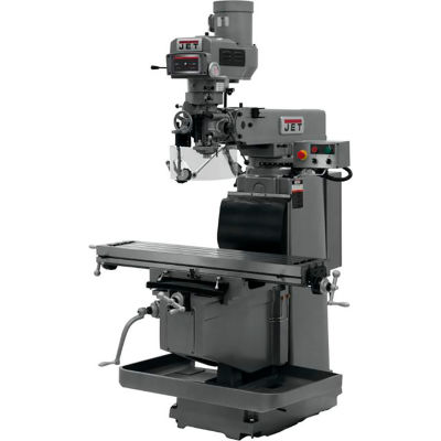 Jet JTM-1254RVS with 3-Axis ACU-RITE G-2 MILLPOWER CNC