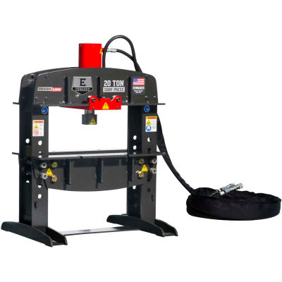 Edwards HAT2010 20 Ton Shop Press and Portable Power Unit 1 Phase, 230 Volt