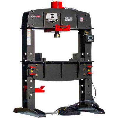 Edwards HAT8080 60 Ton Shop Press with PLC and Portable Power Unit 3 Phase, 460 Volt