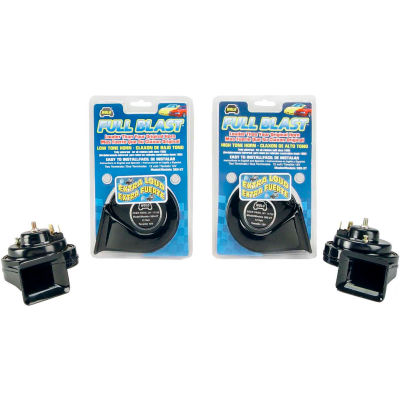 WOLO Full Blast, Extra Loud Universal Replacement Horn - High Tone - 385-2T