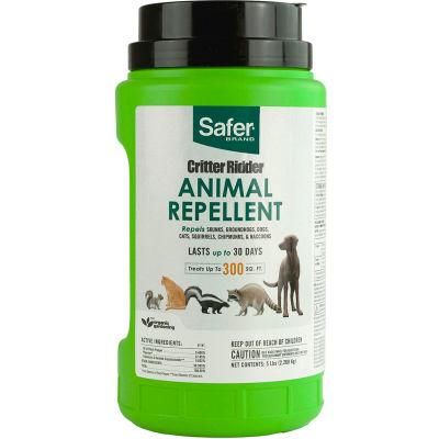 Safer® Brand Critter Ridder® Animal Repellent Granules - 5 lb. Bottle
