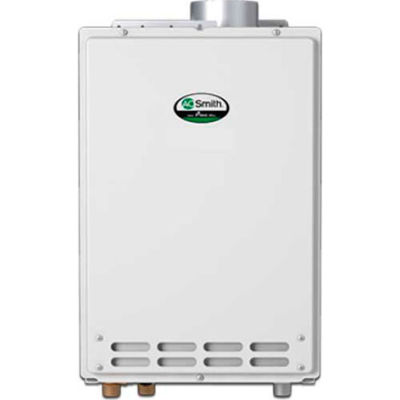AO Smith Tankless Water Heater Non-Condensing Indoor 190,000 BTU Natural Gas