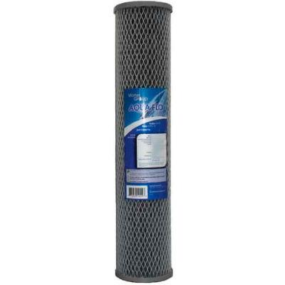 Aquaflo 26189 Cartridge, Carbon, Impregnated Cellulose Media, 10 GPM, 20 Micron - Pkg Qty 20