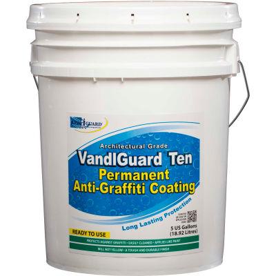 VandlGuard Ten RTU Anti-Graffiti Non-Sacrificial Coating, 5 Gallon Pail 1/Case - VG-7006