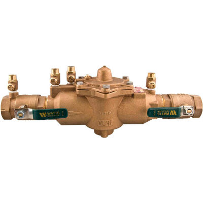 """Watts 1"""" 009M2-QT Reduced Pressure Zone Assembly"""