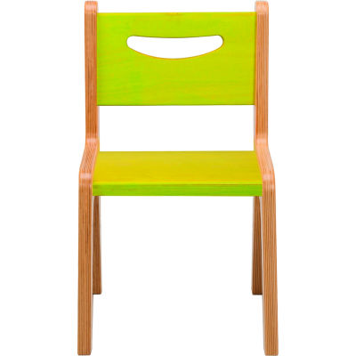 "Whitney Plus Chair - 12"" Seat Height - Green"