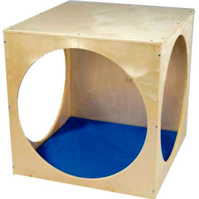 Whitney Brothers Royal Blue Floor Mat For Play House Cube