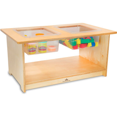 Whitney Brothers Deluxe Toddler Sensory Table