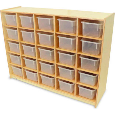 Whitney Brothers 25 Tray Storage Cabinet