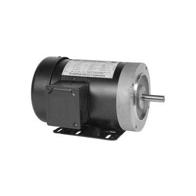 Worldwide Electric Motor NAT34-18-56CB, GP, TEFC, REM-C, 3 PH, 56C, 3/4 HP, 1800 RPM, 1.4 FLA