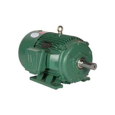 Worldwide Electric Motor PEWWE40-12-575-364T, PREM EFF, TEFC, Rigid, 3 PH, 364T, 575V, 40.6 FLA