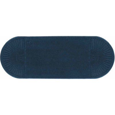 "WaterHog Eco Grand Elite 3/8"" Thick Two Ends Entrance Mat, Indigo 3' x 7'1"""