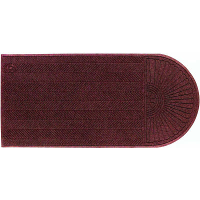 "WaterHog® Eco Grand Elite Entrance Mat + One End 3/8"" Thick 3' x 21.6' Maroon"