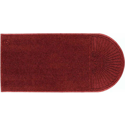"WaterHog® Eco Grand Elite Entrance Mat + One End 3/8"" Thick 3' x 13.9' Red"