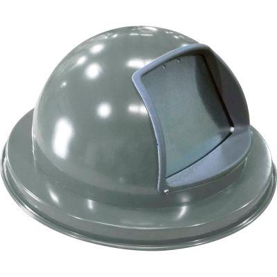 "Metal Dome Top Lid 18-3/4"" Diameter, Silver - M2401-DTL-SLV"