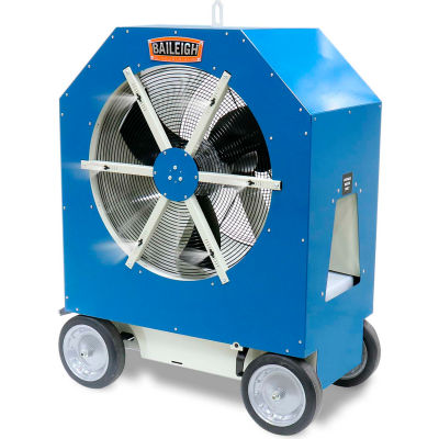 Baileigh BCF-3019 Portable Cold Front Atomized Cooling Fan - 3 Speed 110V - 1.9 GPH